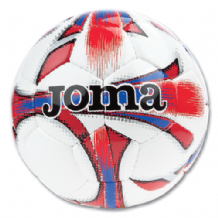JOMA Dali Soccer Ball White/Red  (Choice of Sizes + Discounts on Multiple Balls ordered)